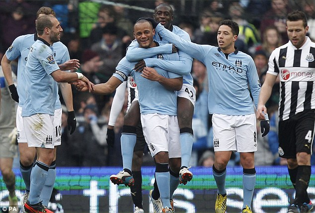 Premier League results: Manchester City 4-0 Newcastle