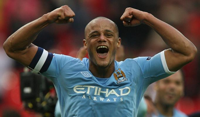 Man City Kompany to make a switch for Barcelona