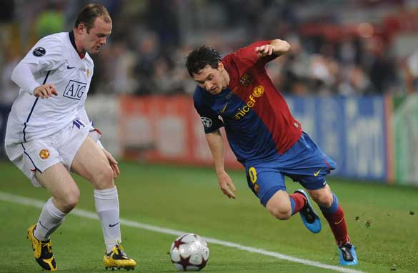 Barcelona Messi: playing alongside Bale and Rooney is my dream