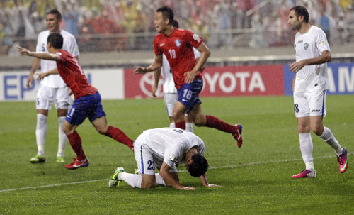 World Cup OFC results: South Korea outplayed Uzbekistan 1-0