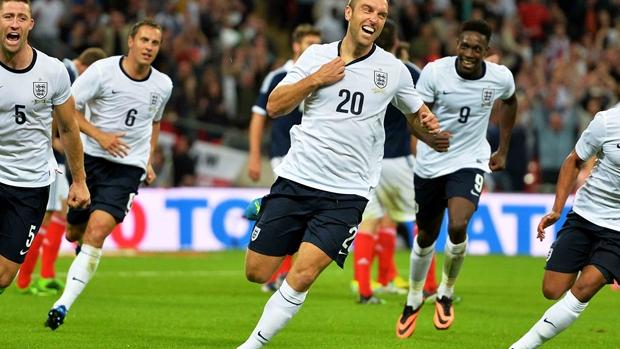 Товарищеские матчи. Англия — Шотландия — 3:2. Хроника событий