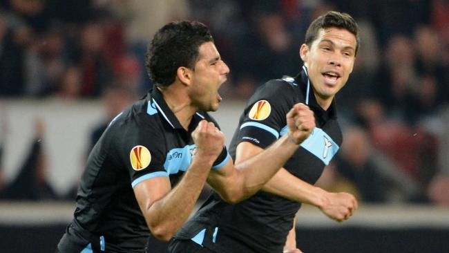 Лига Европы-2012/13. 1/8 финала. «Штутгарт» — «Лацио» — 0:2. «Урок итальянского»