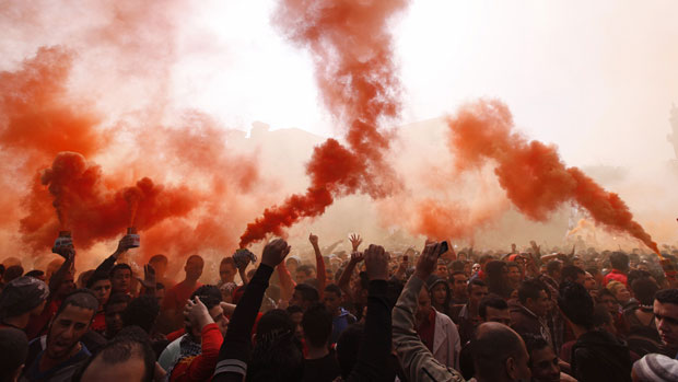Fans in Egypt rage after 2012 riot verdict