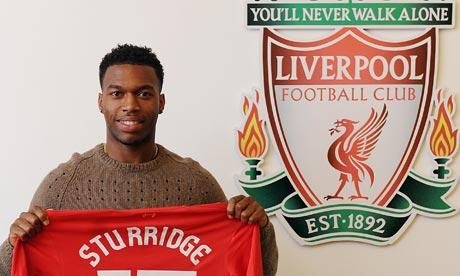 Liverpool sign Sturridge