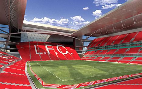 Решение по новому стадиону «Ливерпуля» затягивается