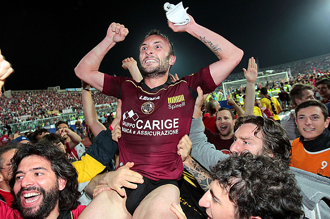 Livorno won Serie A promotion