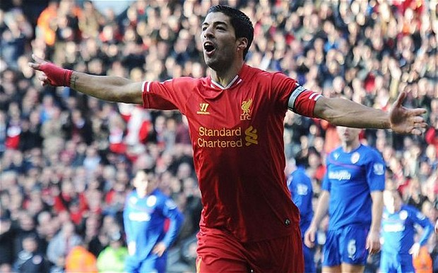 Premier League results: Suarez shines again as Liverpool go top