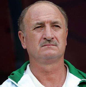 Scolari bid farewell to Palmeiras