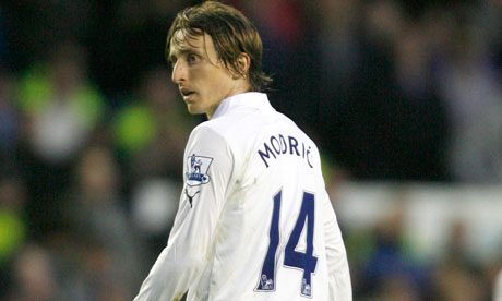 Real Madrid Modric set his sights on a Man Utd move