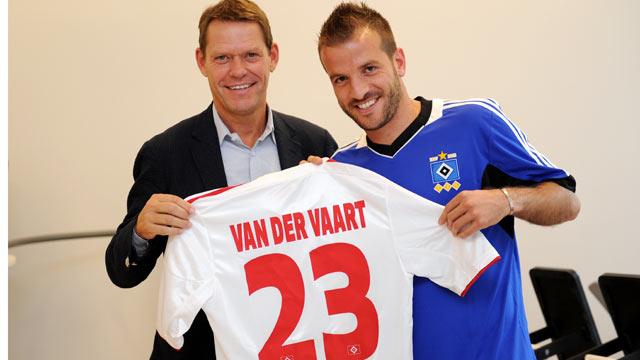 Рафаэл ван дер Варт вернулся в немецкий «Гамбург»