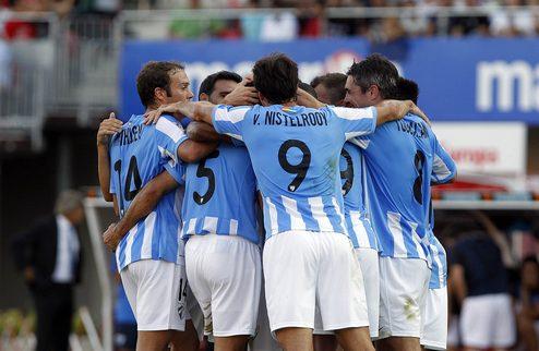 Испанская Ла лига. 4-й тур. «Малага» на классе разобралась с «Леванте»
