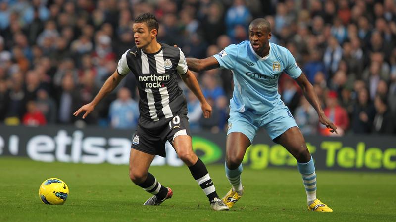 Premier League fixtures. Newcastle United v Manchester City