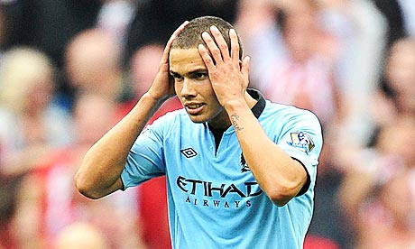 Man City Jack Rodwell will be out for a month