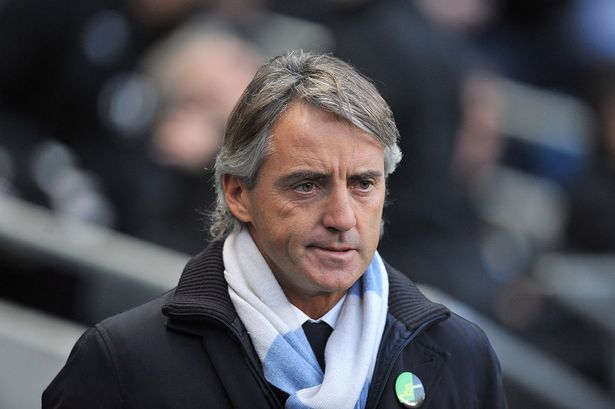 Axed Man City coach Mancini could take over Napoli