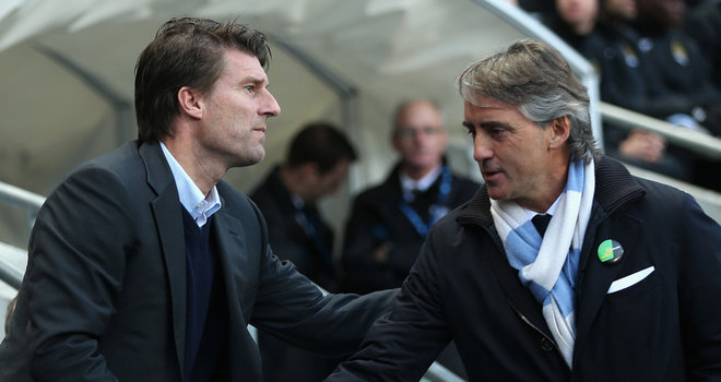 Swansea Laudrup tipped to succeed Mancini