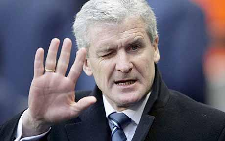 Hughes a favourite for Stoke City job
