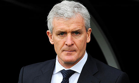 Stoke appoint Hughes as their new manager