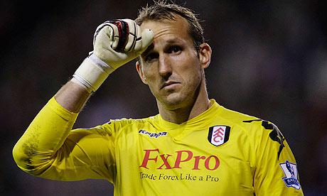 Mark Schwarzer hinted at a possible move away from Fulham