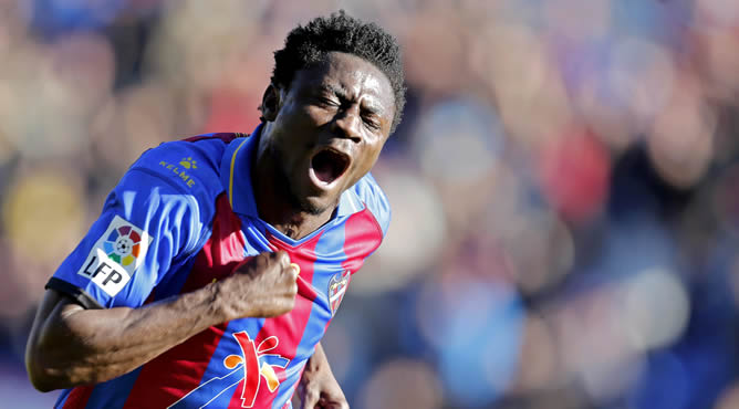 Latest transfer rumours: Levante forward Martins moves to Seattle