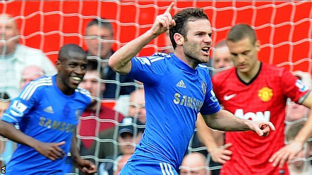 Chelsea Mata rallies the troops ahead of clash with Tottenham