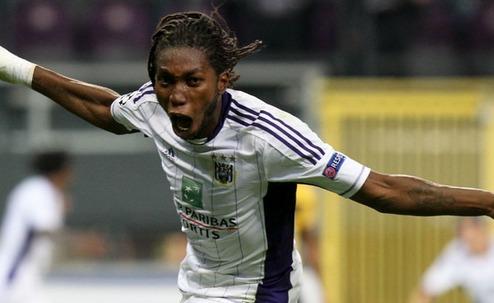 Anderlecht's Mbokani fancies Dynamo Kiev move