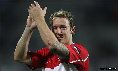 Wigan target Spartak McGeady