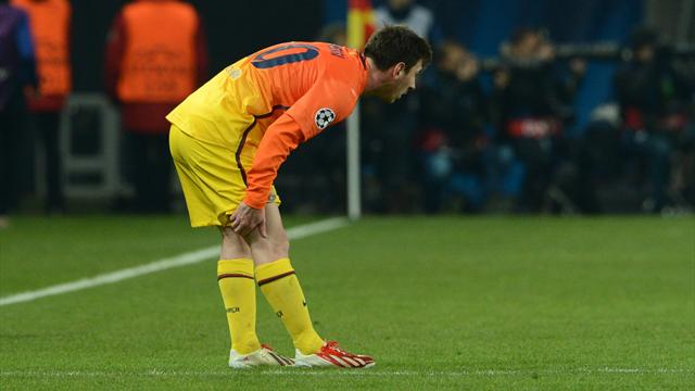 Messi injury worry for Barcelona