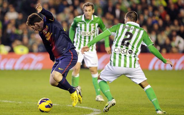 Испанская Ла лига. 13-й тур. «Бетис» — «Барселона». Прогноз. «На костылях против Голиафа»