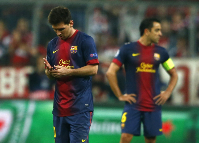 Messi, Xavi believe it is all to play for in their tie against Bayern