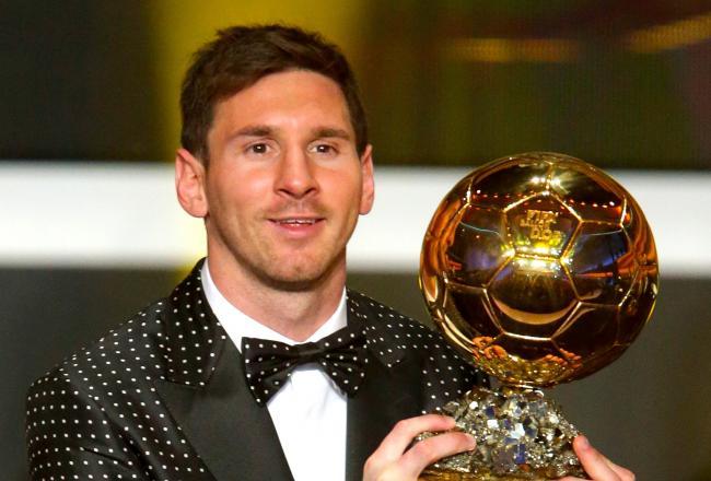 Messi wins fourth consecutive Ballon d'Or for award