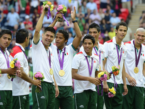 Mexico have won Olympic men's football gold medal