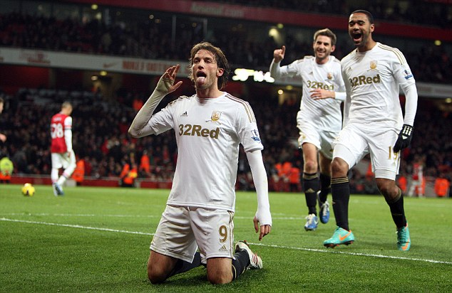 Michu signs new contract with Swansea