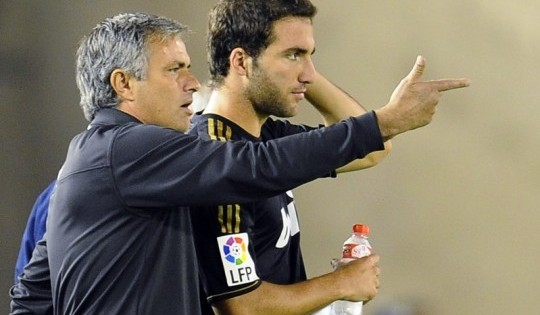 Mourinho persuaded Higuain to stay