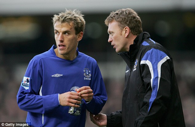 Moyes believes Phil Neville will become a good coach