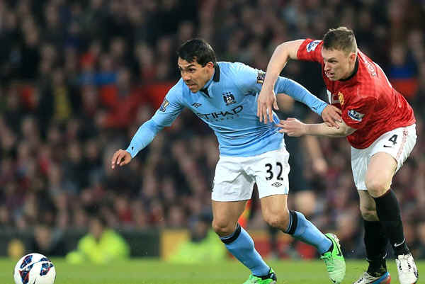 Английская Премьер-лига. 32-й тур. «Манчестер Юнайтед» — «Манчестер Сити» — 1:2. «Кто хочет, тот добьется…»