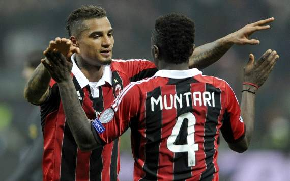 Milan 2-0 Barcelona: Boateng and Muntari sink favourites Barca