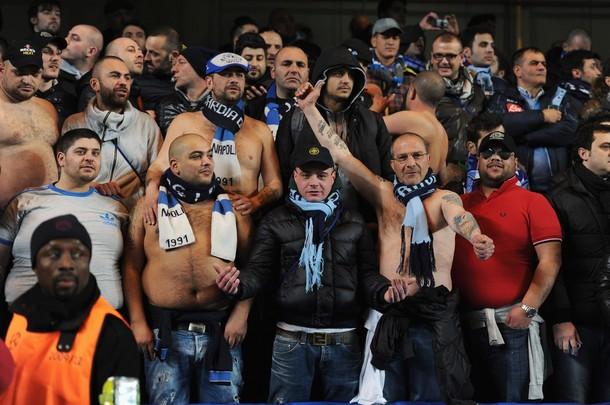 «Наполи» избежал проведения матча с «Арсеналом» без зрителей