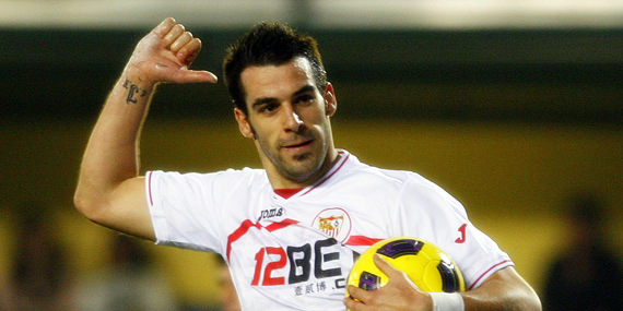 Everton set to swoop for Sevilla Negredo after Fer move collapsed