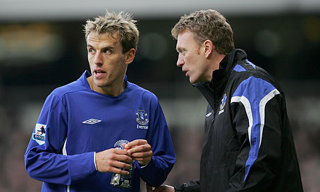 Neville set to rejoin United as Moyes' assistant