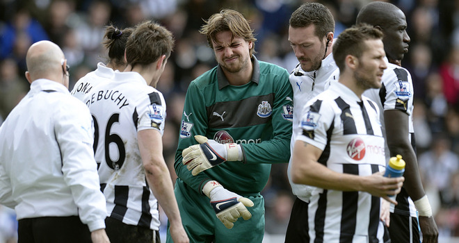 Newcastle Krul set to miss the rest of the season