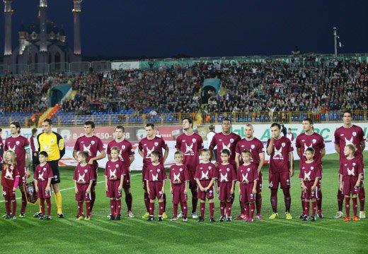 Опубликован состав «Рубина» на матч с «Партизаном»