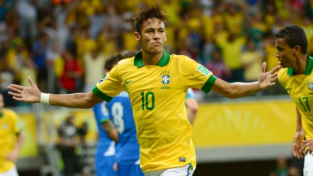Confederations Cup results: Neymar shines again as Brazil net four past Italy, Mexico beat Japan (video highlights)