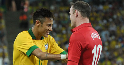 Confederations' Cup hero Neymar urges Manchester United Rooney to join Barcelona