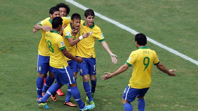 Кубок конфедераций. Групповой этап. Бразилия — Мексика. Прогноз. «По-американски»