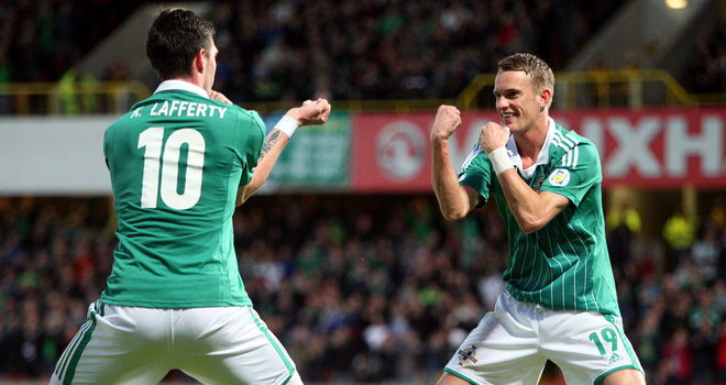 Northern Ireland to rest Lafferty, Baird
