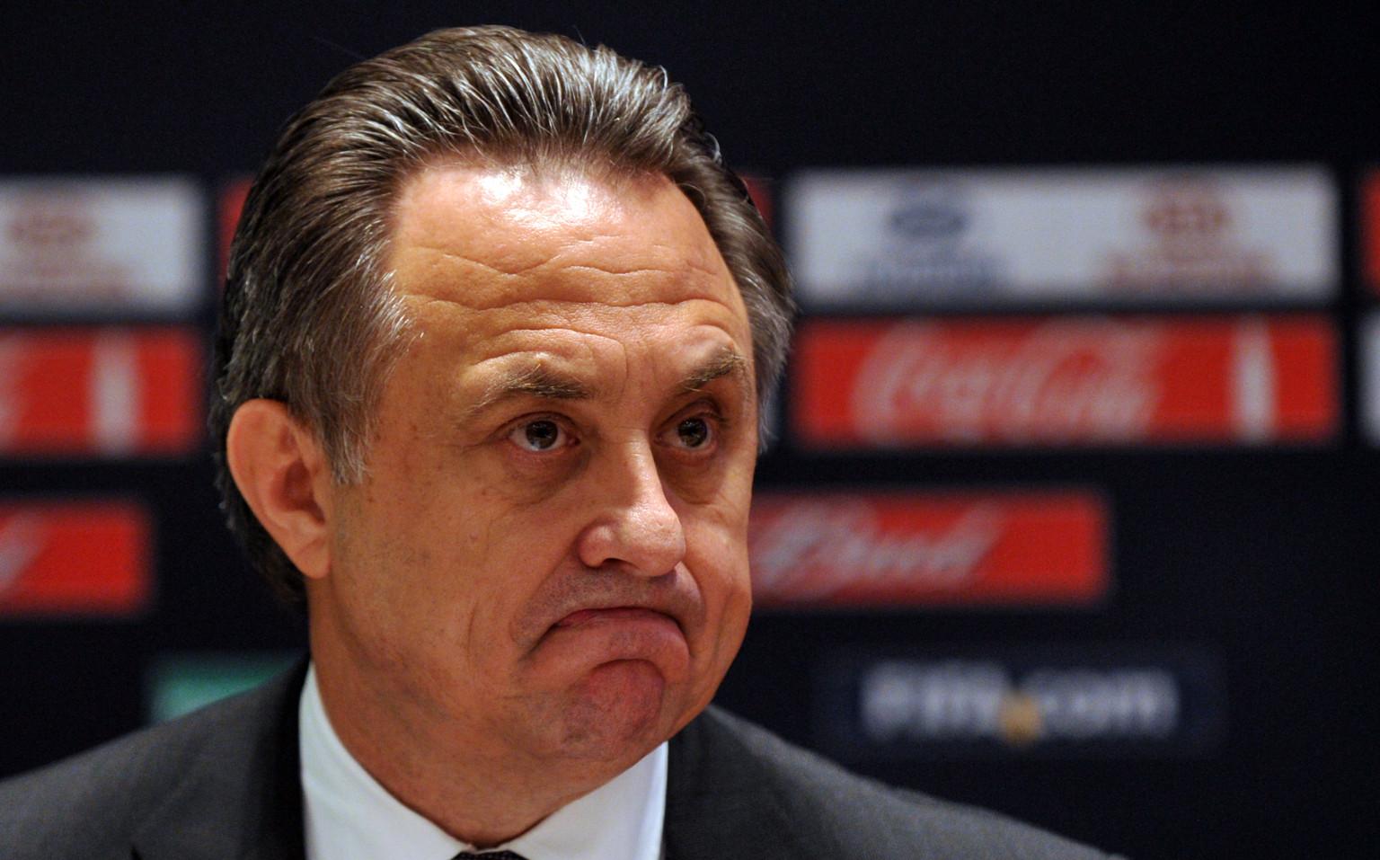 Виталий Мутко: за два года ФИФА признала спорными около 12 матчей в России