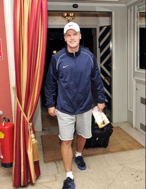 Денисов прибыл в расположение «Анжи» в Австрии (ФОТО)