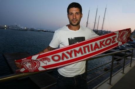 Алехандро Домингес стал игроком «Олимпиакоса» (ФОТО)