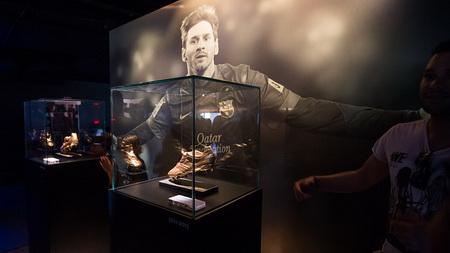 В музее «Барселоны» открыли отдельный зал, посвященный Месси (ФОТО)