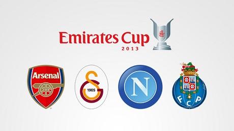 «Арсенал», «Порту», «Наполи» и «Галатасарай» разыграют в августе Emirates Cup (ФОТО)
